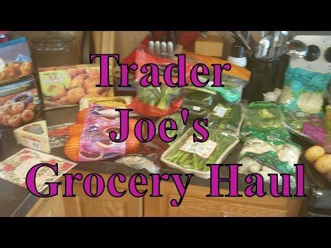 Trader Joe's Haul 3/25/18