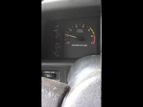 Slow cranking & idle surge symptoms of bad fuel pump video 1 of 3