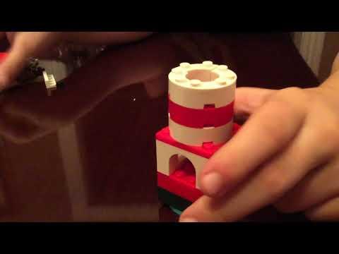 How to build a lego mini lighthouse and mini sailboat