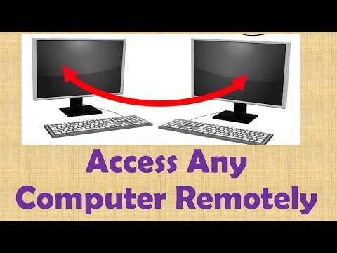 how to remotely access a computer with ip address easily in hindi
