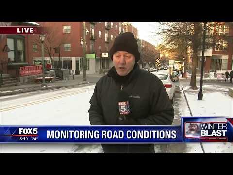 Atlanta monitors road conditions