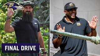 Ray Lewis, Eric Weddle Drop Into Virtual Meetings | Ravens Final Drive