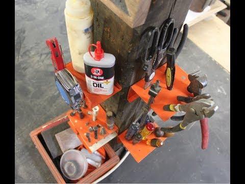 Scrap Steel Tool Caddies | WorkShop Improvements