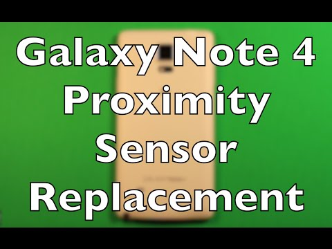 Galaxy Note 4 Proximity Sensor Replacement How To Change