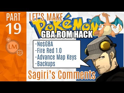 How To Make a Pokémon Rom Hack GBA Part 19 ⚙ Sagiri's Comments ⚙ Helpful Comments From A Youtuber