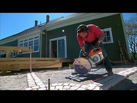How to Install a Cobblestone Patio - DIY Network