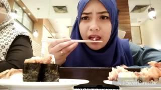 Eating At Sushi King Seremban 2