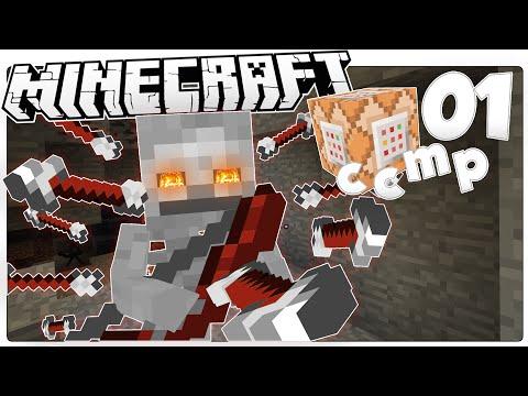 Minecraft 1.9   SKELETON MACHINE GUN BOW   Custom Command Mod Pack #1