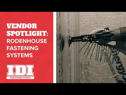 Work Faster with Rodenhouse Insulation Fasteners from IDI