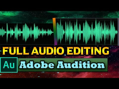 Full  Audio Editing || Adobe Audition || Make Your Voice Sweeter ,Clear, Noiseless