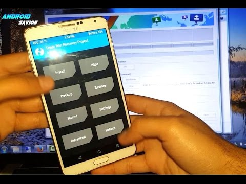 How to Install TWRP Custom Recovery on The Samsung Galaxy Note 3 LTE SM-N9005 + Revert to Stock