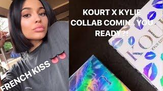 Kylie Jenner & Kourtney Kardashian Collaborate On GORGEOUS Makeup Line!