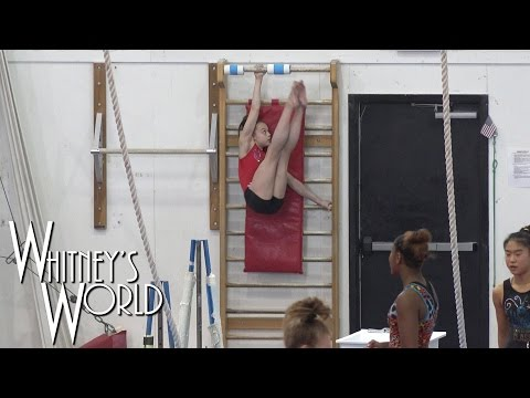 Getting Stronger | Whitney Bjerken Gymnastics Workout