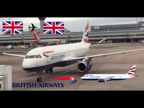 Flight Review British Airways A320 G-EUYN Manchester to London Heathrow 12/04/2017