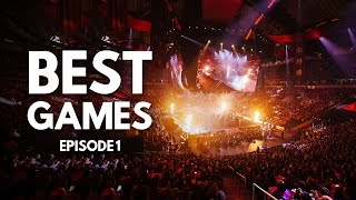 Best Games in Dota 2 History - Episode 1