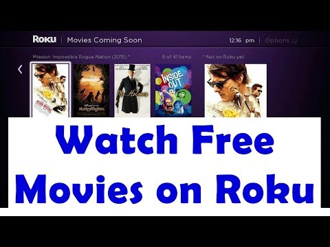 How To Watch Unlimited Movies & TV Shows For Free on Roku  Stick/TV