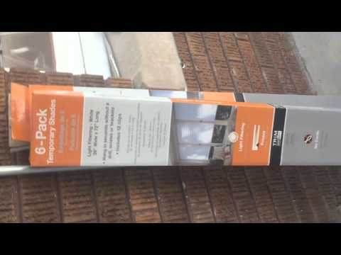 Redi Shades Temporary Window Treatment Review.