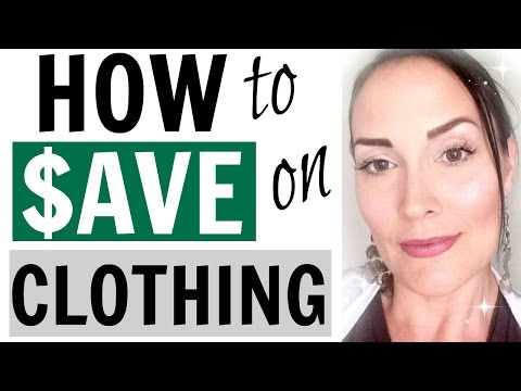 HOW TO SAVE MONEY ON CLOTHES ● FRUGAL MINIMALISM ●  HOW TO SAVE MONEY NOW