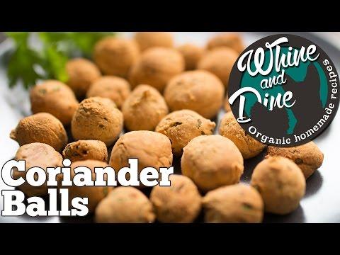 Coriander Balls | Homemade Dog Training Biscuits