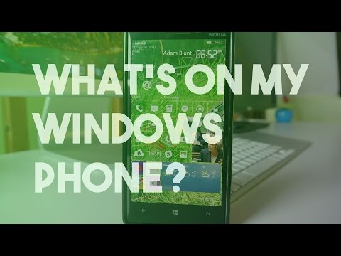 What's on my Windows Phone? | 2016