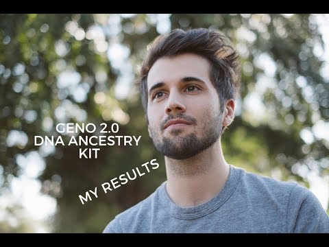 My ancestors revealed! DNA results from Geno 2.0