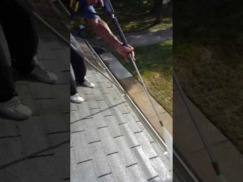 Roof and shingle cleaning