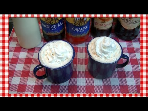 2 Winter Coffee Warmers~Torani Coffee Cocktails~ Noreen's Kitchen