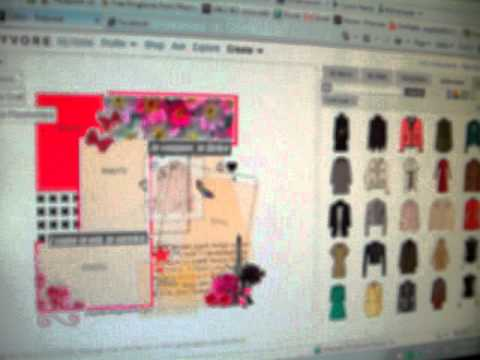 how to make a polyvore template