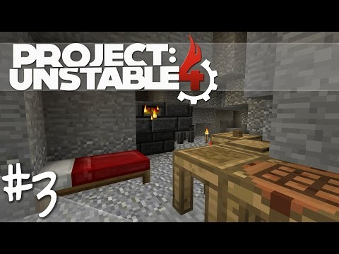 Project: Unstable [S4][#003][HD][Deutsch] Neue Base, Tinkers' Construct Smeltery und erste Tools