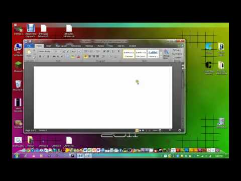 How to Change office 2010 skin colour