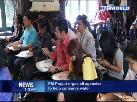 PM Prayut urges all agencies to help conserve water