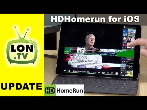 HDHomerun App for iPhone and iPad First Look! 2017 Cord Cutting Project Part 4