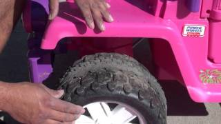 power wheels modiffications