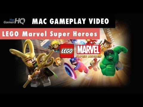 Lego Marvel Super Heroes Mac Gameplay by MacGamerHQ.com