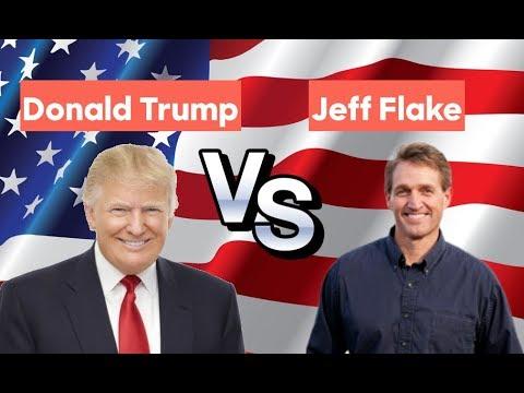 Jeff Flake vs Donald Trump | 2020 Republican Primary
