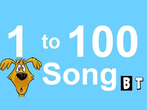 BIG NUMBERS SONG for CHILDREN - LEARN HOW TO COUNT 1 TO 1OO