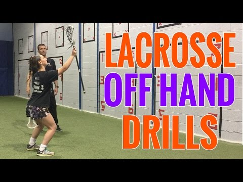 4 LACROSSE DRILLS to INSTANTLY Improve Your OFF HAND!