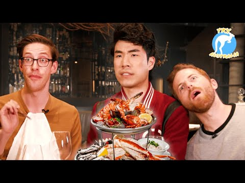 The Try Guys Eat $1,200 Of Gourmet Seafood • Try Australia