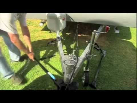 How to Tow a Camper Trailer - The Towbar, Hitch and D-Shackles