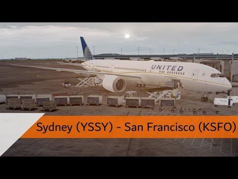 P3D V4.2 Full Flight - United 787-9 - Sydney to San Francisco (YSSY-KSFO)