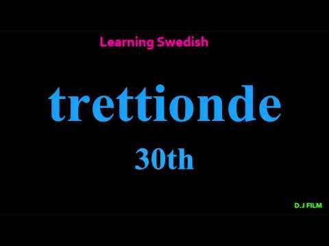 Learning Swedish (Lesson 6)