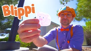 Blippi Learns About Farm Animals | Learning Animals For Kids | Educational Videos For Children