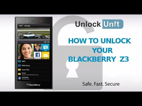 UNLOCK BlackBerry Z3 - HOW TO UNLOCK YOUR BlackBerry Z3