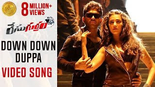 Race Gurram Video Songs   Down Down Song   Allu Arjun   Shruti Haasan   Saloni   Prakash Raj