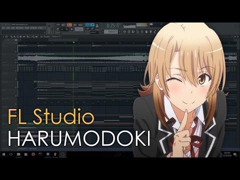Remaking Harumodoki Asterisk's DnB Remix in FL Studio ( Free FLP )