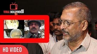 Nana Patekar Reaction On Indian Soldier Latest Video Of Corruption & Food Shortage | Viralbollywood