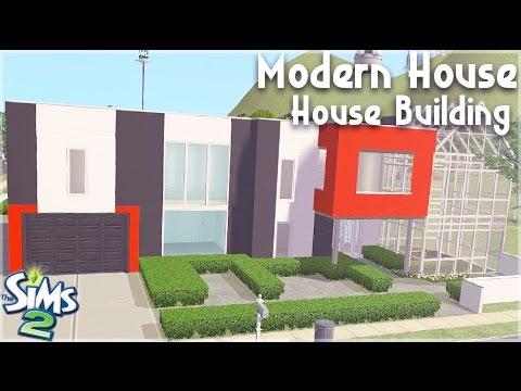 The Sims 2: House Building || Modern House w/Faramouse