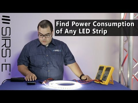 Find the Power Consumption of Any LED Strip
