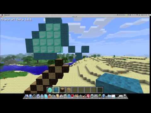 How to Make A Giant Diamond Axe