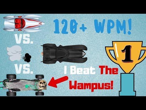 I Beat The Wampus! - Nitro Type Gameplay (121 WPM!)